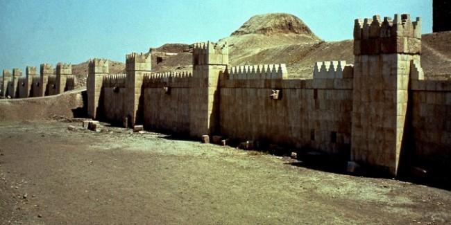 Le mura di Ninive a Mosul, Iraq. ©LaPresse