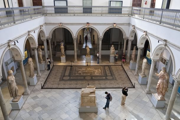 Tunis, Tunisia --- Tunisia, Tunis, Bardo National Museum, statues --- Image by © Patrick Escudero/Hemis/Corbis