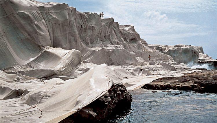 """""""Wrapped Coast"""", Sydney, 1969"""