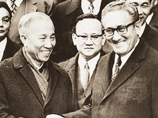 Henry Kissinger e Le Duc Tho, 26 Ottobre 1972